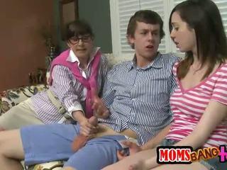 sexo en grupo mejores, transexual cualquier, agradable conjunto de tres fresco