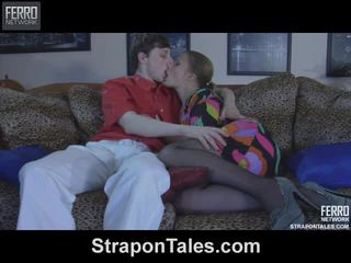 Alana&ranald violent strapon handling