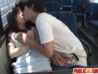 Yua kuramochi busty je fucked na the autobus