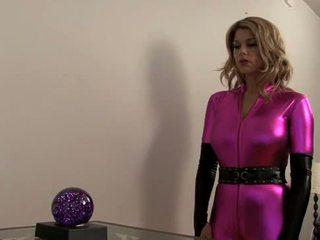 Carissa Montgomery-Super Heroine falls into hypno-chloro trap