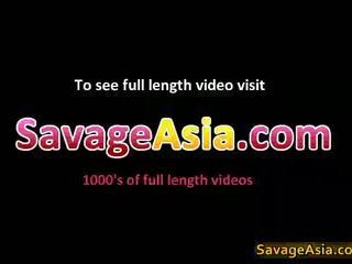Sexy Asian Teen Stripping