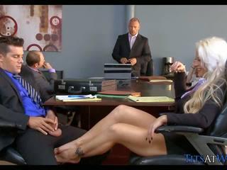 Blondynka szmata w the spotkanie pokój, darmowe hd porno 68