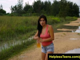 HelplessTeens Michelle Martinez public sex