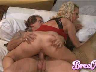 Scorching Honey Bree Olson Slams Her Moist Gap On A Cock Like A Filthy Cowgirl