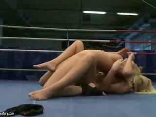 you lesbian check, lesbian fight, fun muffdiving