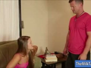 Two Horny Masseuses Nikki Daniels And Abby Cross Milk Shaft