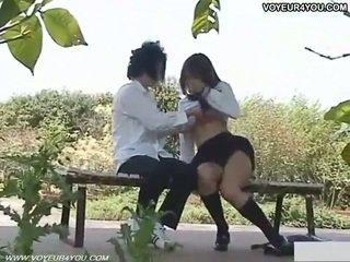 Nerātnas skolniece ārā sekss filmed