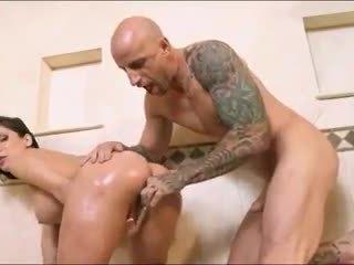 Dögös barna pornósztár aleksa nicole oils fel neki segg -ban a zuhany
