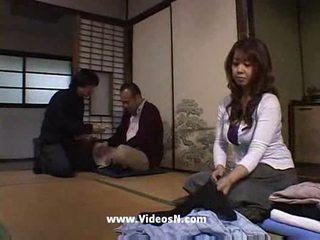 japonés, marido, interacial