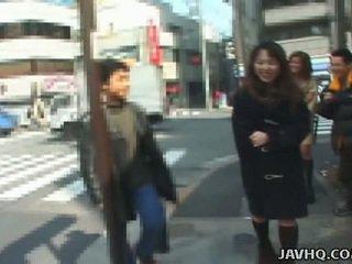 giapponese, sesso all'aperto, pompino