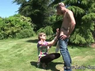 more cowgirl, outdoors real, full cumshot more