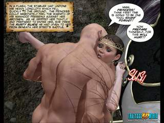 3D Comic Tryst Part 2 of 2