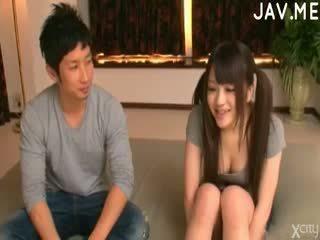 briunetė, japonijos, kūdikis