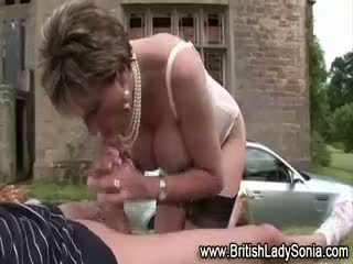 big boobs, british, blowjob
