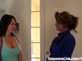 Milfka deauxma scissors angie na predávať ju dom!