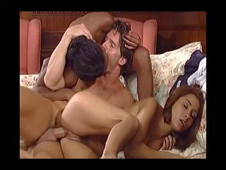 group sex, vintage, interracial