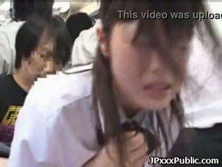 סקסי יפני שנתי העשרה של זיון ב ציבורי places 30