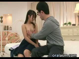 japonés, masaje, duro