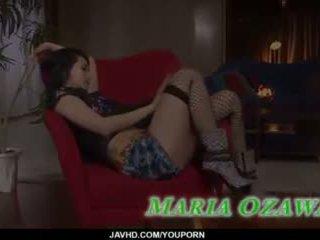 Sexy dreier porno aktion entlang dünn maria ozawa