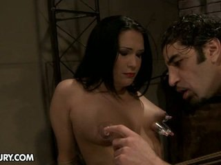 Carrmen Is Able To Be Such The Pain Slut. She Likes To Be Tortured.
