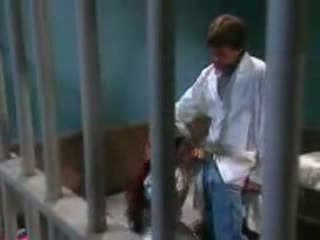 Female Midget Fucked In Prison By Prison Guard