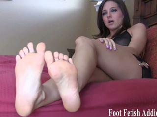 Uctívání můj nohy a já vůle reward vy, vysoká rozlišením porno 7f