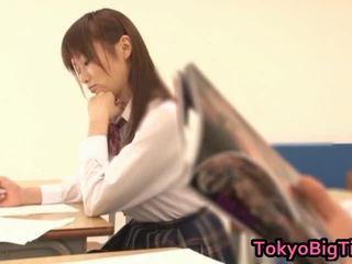 giapponese, pulcino, sexy ragazza