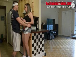 HD - Taboo Busty Teen Katie Cummings Having Some Fun With Her Stepbrot