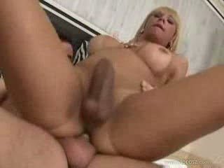 Blonde Trans In Randy Guy Hole Fucking