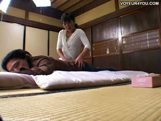 Jap enfermera follando voyeur