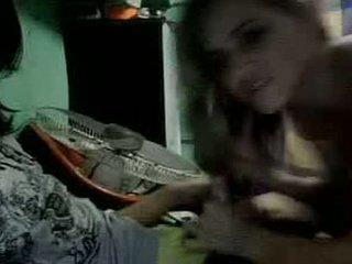 O gaja e o palhaço em webcam
