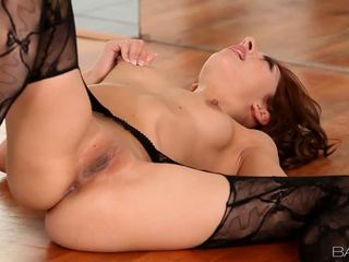 Hot Lexi Bloom Poses In Pantyhose And Fondles Herself Video