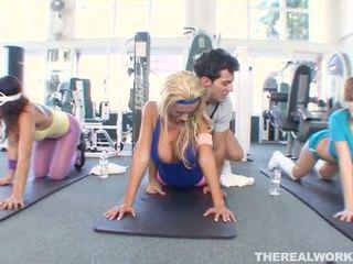 αθλητισμός, babes, γυμναστήριο