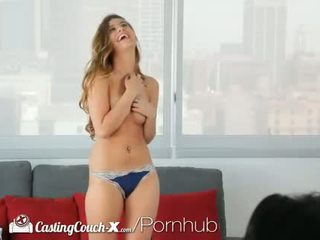 HD - CastingCouch-X Teddi gets fucked for the first time on camera