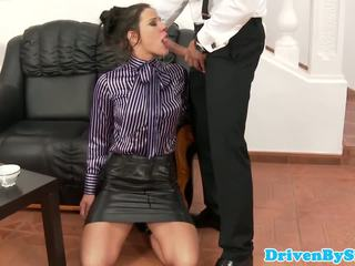 Submisive bejba anita throathed in jizzed