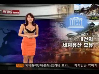 Khỏa thân tin tức korea phần 3