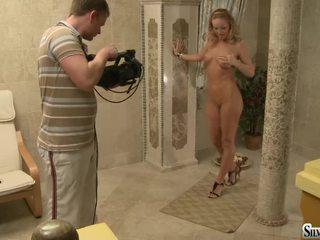 blondinke, nice ass, glamour
