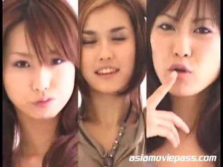 Asian Girls Swallowing Semen