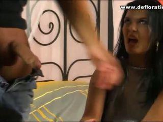Naughty fingers of virgin