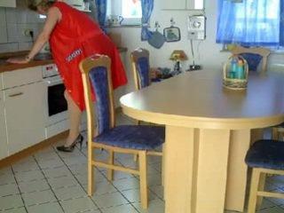 Oma und opa で der kueche