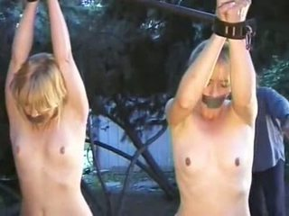 outdoors, bondage