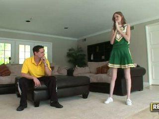 Ψηλός/'η cheerleader layla exx gets πατήσαμε σκληρά