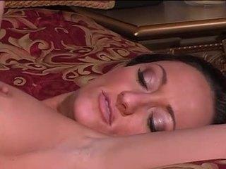 Lésbica cama acrobatics