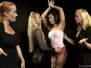 Hot slavegirl getting punished