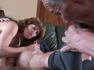 žmonos apgautas vyras, asilas lyžis, cum į burną