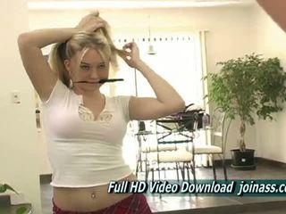 více kotě většina, masturbace, blondýnka hq