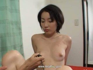 brunetta, giapponese, anale