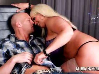 Alura jenson heiß blowjob und anal fick