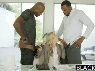 Blacked בעל נבגד בין גזעי פורנו ב blacked.hugescock.com
