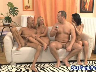Group sex game fucking